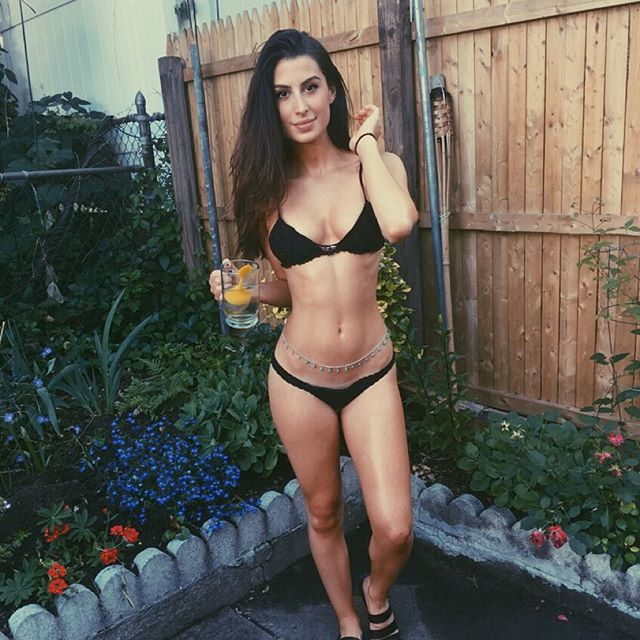 Brittany Suleiman in a bikini