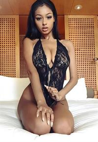 Jayde Pierce in lingerie