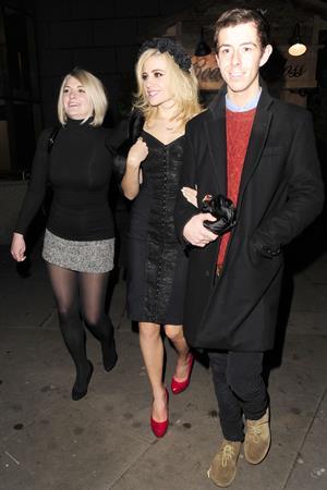 Pixie Lott leaving night club in London 11/30/12