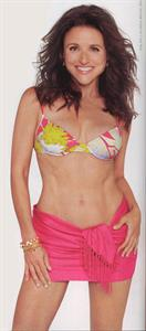 Julia Louis-Dreyfus in a bikini