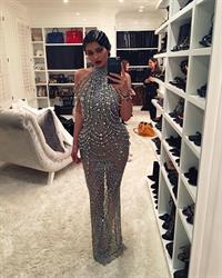 Kylie Jenner taking a selfie
