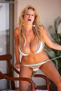 Kelly Madison in a bikini