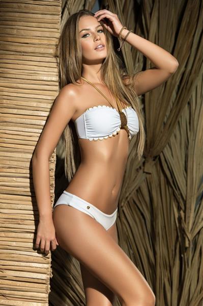 Veronica Assis in a bikini