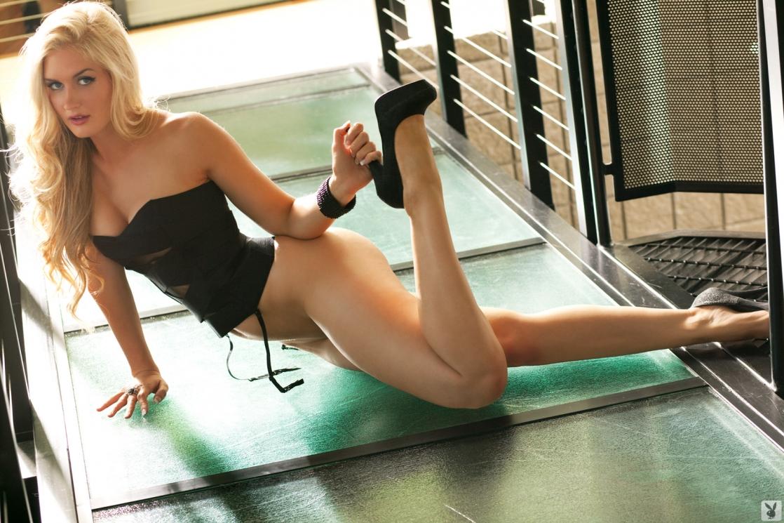 Morgan Reese in lingerie