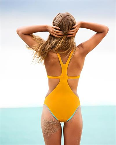 Abby Champion in a bikini - ass