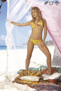 Natalia Paris in a bikini