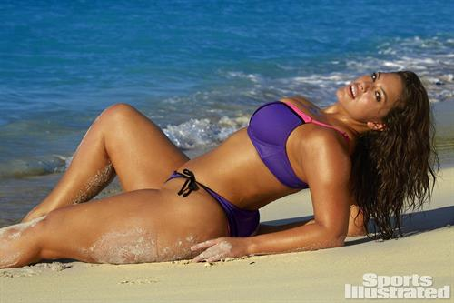 Ashley Graham in two piece