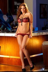 Melany Denyse in lingerie