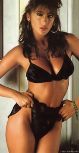 Sabrina Salerno in lingerie