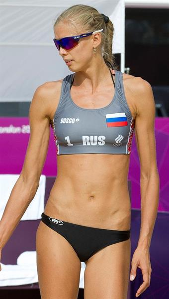 Anna Vozakova is a Russian Olympic Beach Volleyball Player