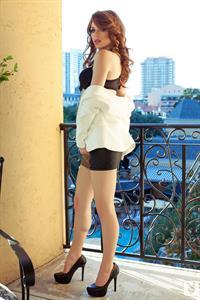 Tawny Swain in lingerie