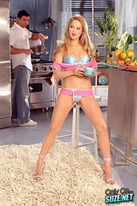 Paris Dahl in lingerie