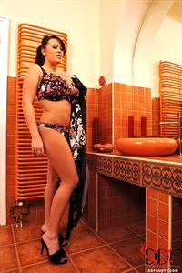 Leanne Crow in lingerie