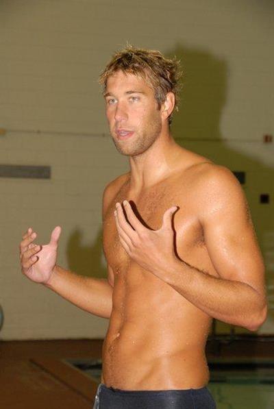 Shirtless American Olympic Swimmer Matt Grevers