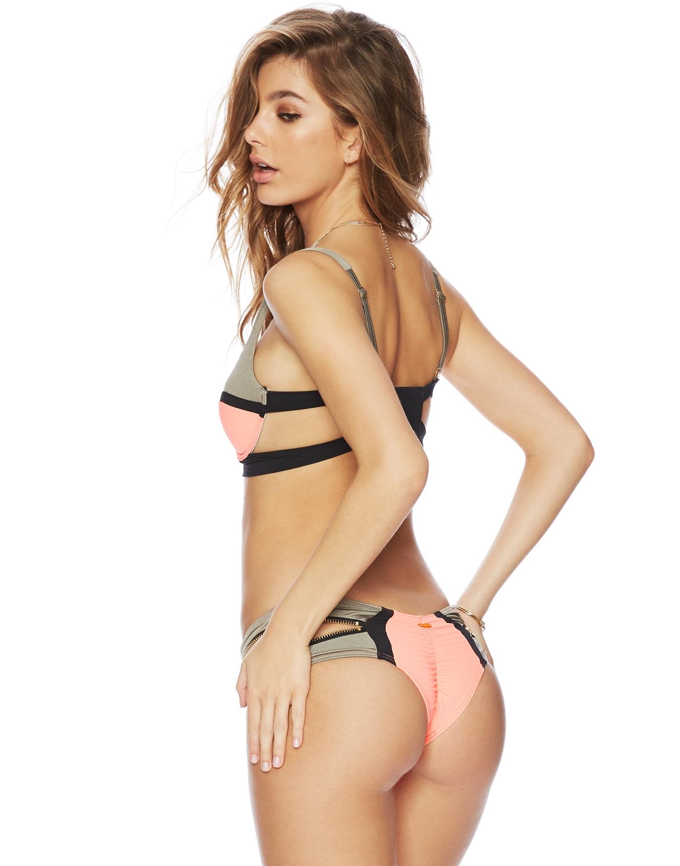 Camila Morrone in lingerie - ass