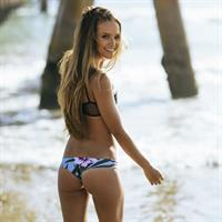 Helen Owen in a bikini - ass