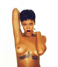Rihanna - breasts