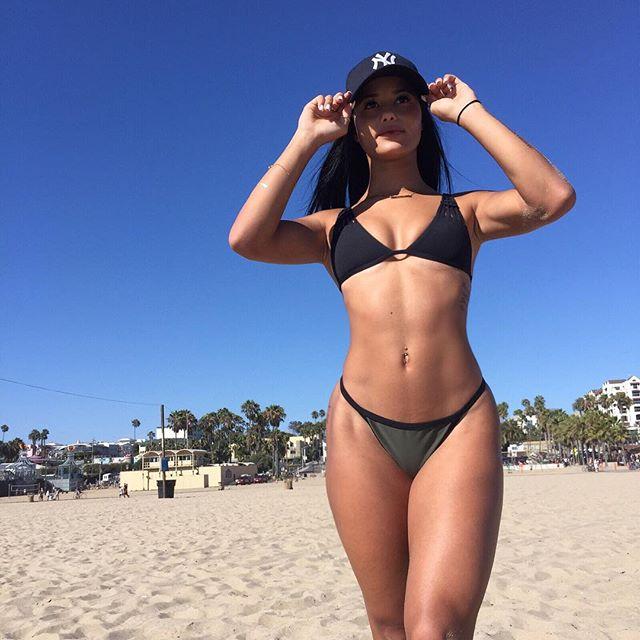 Katya Elise Henry in a bikini