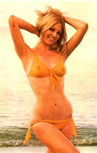 Katya Wyeth in a bikini