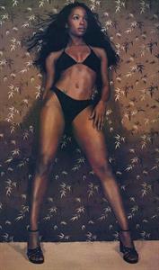 Elise Neal in a bikini