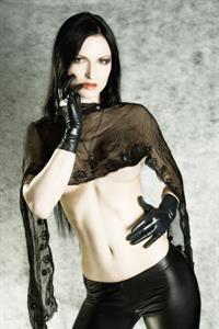 Fetish and alternative model Sister Sinister.