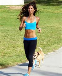 Leilani Dowding in Yoga Pants