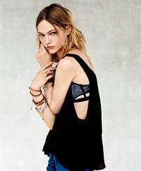 Sasha Pivovarova in lingerie