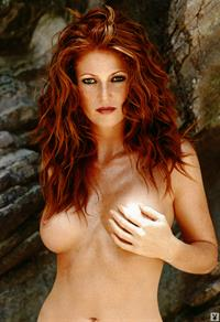 Angie Everhart - breasts