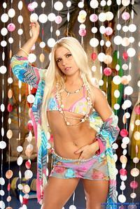 Casey Parker in a bikini