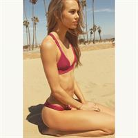 Amber Davis in a bikini
