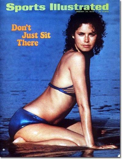 Sheila Roscoe in a bikini