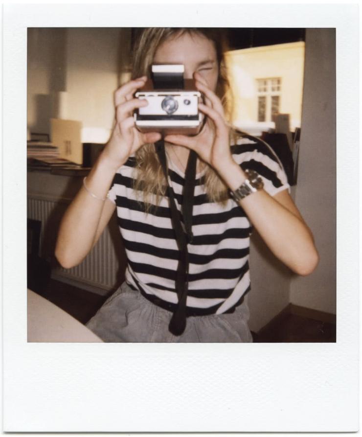 Ania Chorabik taking a selfie