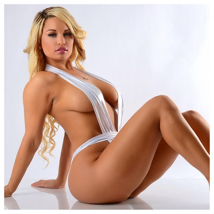 Jessica Kylie in a bikini
