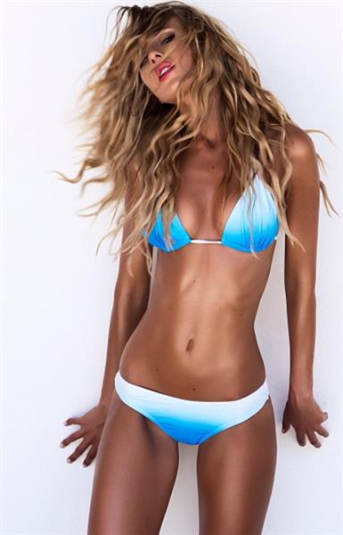 Renee Somerfield in a bikini
