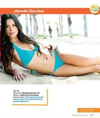 Alex Curry in a bikini