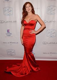 Renee Olstead at Lambda Legals West Coast Liberty Awards Gala, Beverly Hills, June 13, 2014