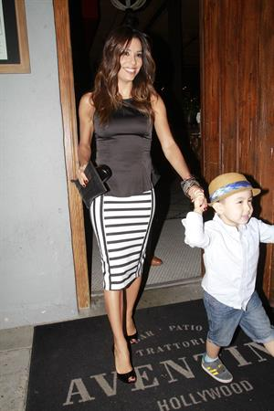 Eva Longoria out for dinner in Los Angeles June 12, 2014