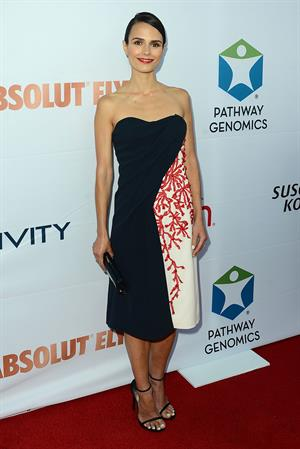 Jordana Brewster attending Pathway to the Cure Benefit at Santa Monica Airport June 11, 2014