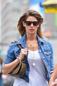 Ashley Greene strolling through NYC June 11, 2014