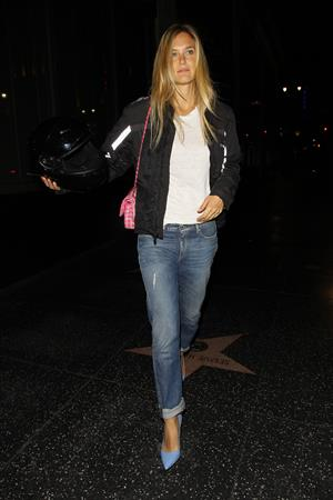 Bar Rafaeli grabbed some sushi at Katsuya restaurant in Hollywood, June 9, 2014