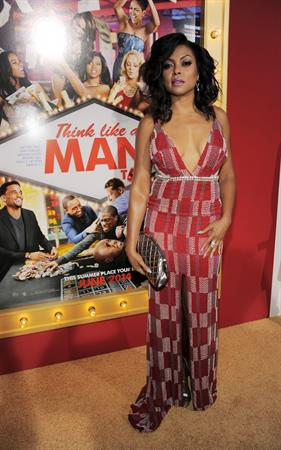 Taraji P. Henson attending the  Think Like A Man Too  premiere, L.A. June 9, 2014