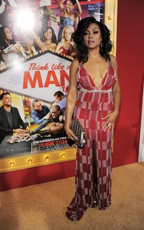 Taraji P. Henson attending the  Think Like A Man Too  premiere, L.A. June 9, 2014