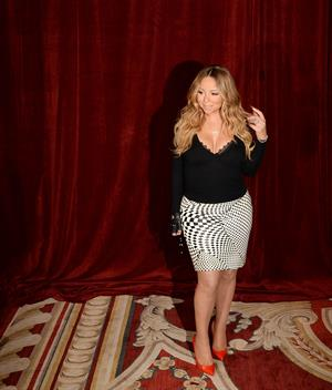 Mariah Carey Announces The Launch Of Her Go N'Syde Bottle Butterfly June 9, 2014