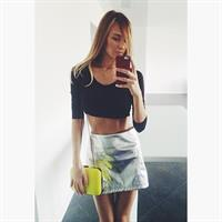 Lily Ermak taking a selfie
