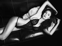 Nicole Minetti in lingerie