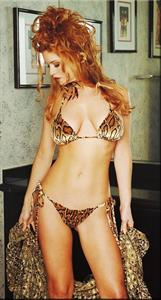 Carrie Stevens in a bikini