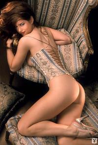 Carrie Stevens in lingerie - ass
