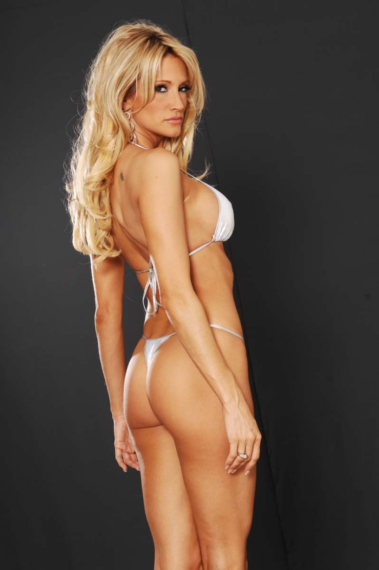 Jessica Drake in a bikini - ass