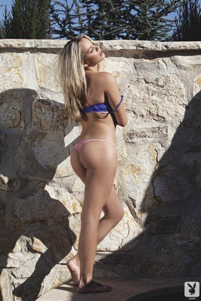 Alexa Lyon in lingerie - ass