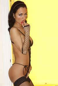 Roxanna Milan in lingerie